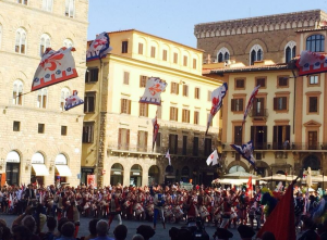 Яркое празднование Дня города во Флоренции 24 июня 24 июня - День города во Флоренции 24 июня — День города во Флоренции 24