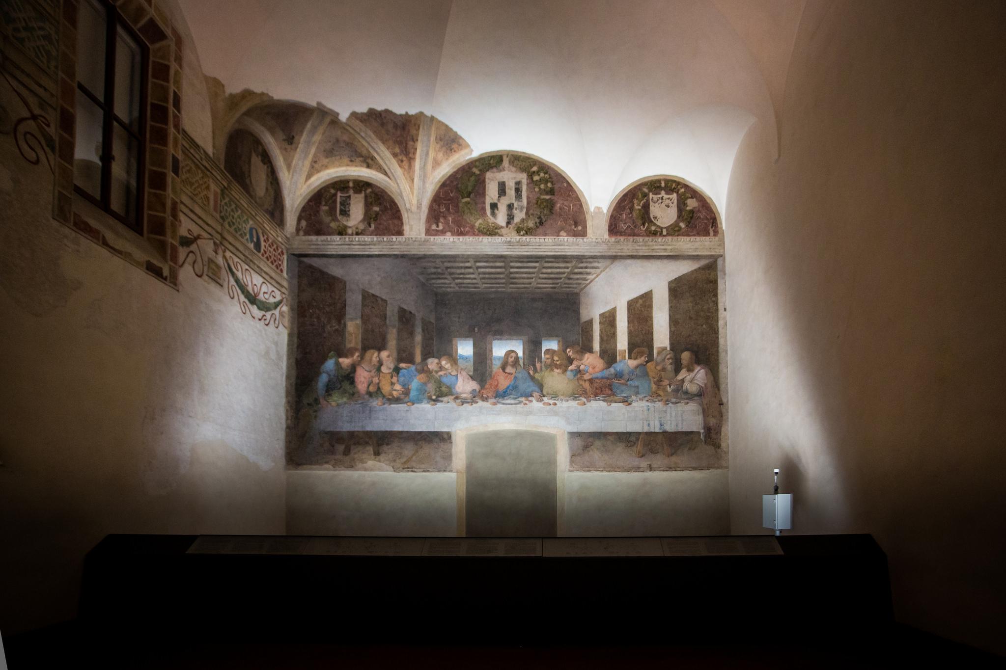 Тайная вечеря Леонардо да Винчи в Милане Билеты на Тайная вечеря в Милане Тайная вечеря Леонардо да Винчи в Милане The Last Supper big