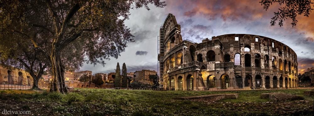 Колизей в Риме Колизей в Риме Колизей в Риме Coliseum in Rome