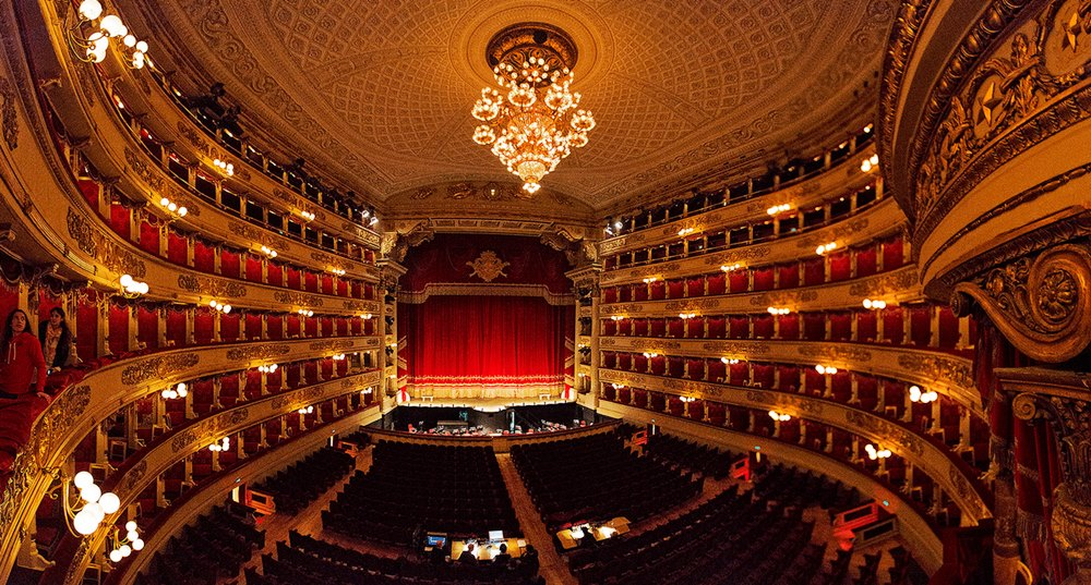 Миланский оперный театр Ла Скала la scala