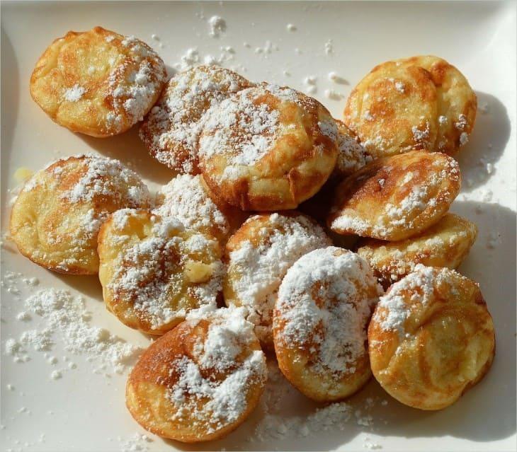 Венецианские пончики фриттелле  Венеция в декабре Frittelle