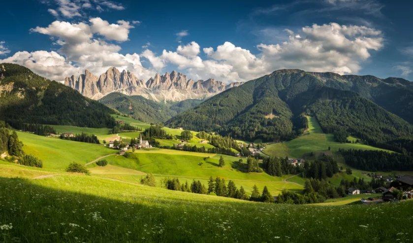 География Италии italys geography and climate